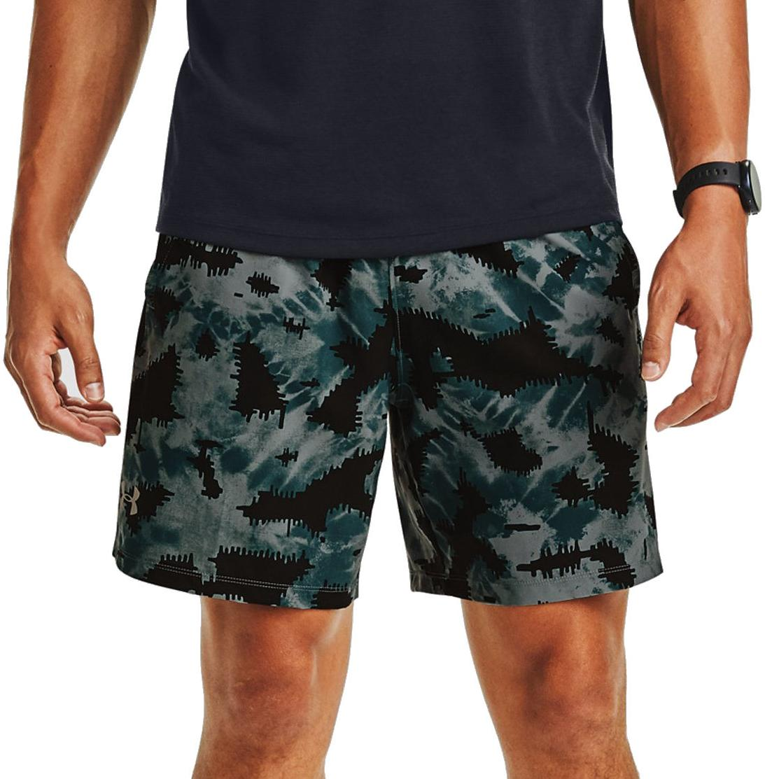 Korte broeken Under Armour UA LAUNCH SW 7 PRINTED SHORT