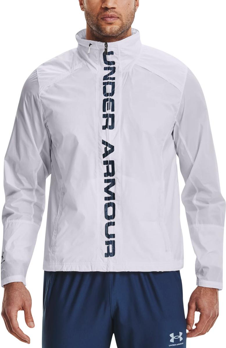 Hoodie Under Armour Accelerate Pro Storm Shell-WHT